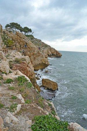Hotel Maria Cristina: Entlang des Strandes gibt es eine schöne Promenade