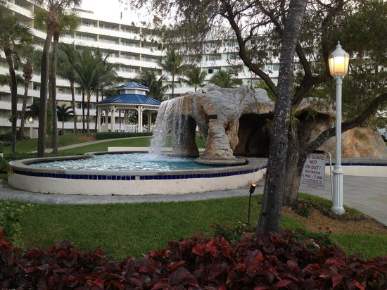 Melia Nassau Beach - All Inclusive: Waterfall for great massages