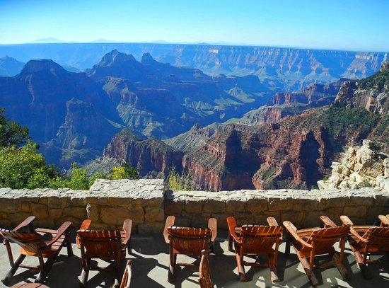 Grand Canyon Lodge - North Rim: View from dinning room