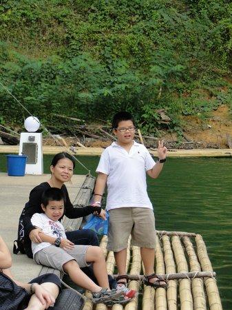 Belum Rainforest Resort : Jetty