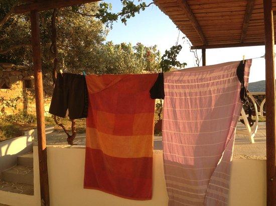 Kavos Studios : Magnifiques short et serviettes de plage...