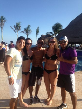 Hard Rock Hotel Riviera Maya: entertainment team - mauricio, eddy, yonatan!
