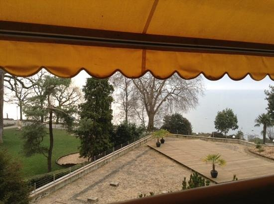 Hotel Royal Plaza Montreux : room with a view