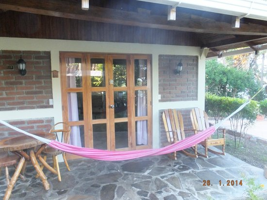 Hotel Villa Paraiso: cabins with hammocks