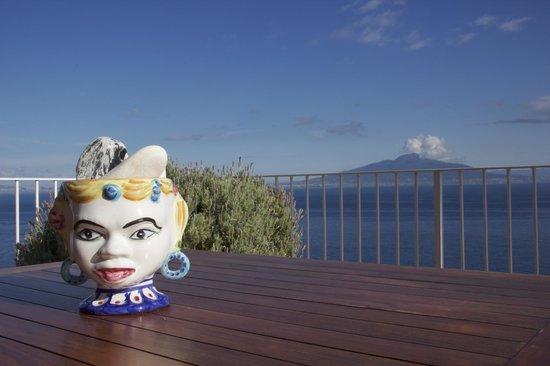 Maison La Minervetta : View from the terrace