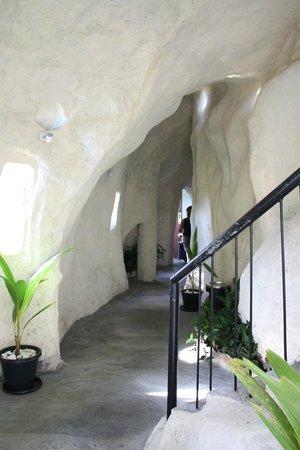 Hotel Thilanka: Flur