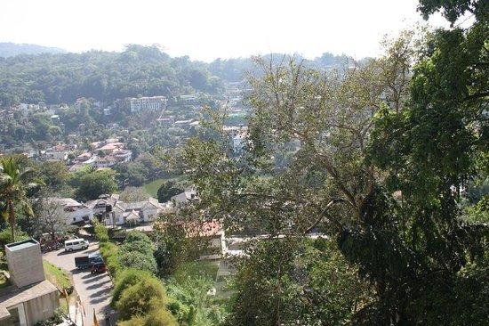 Hotel Thilanka: Blick auf Kandy