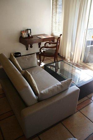 Hotel Thilanka: Sitzecke
