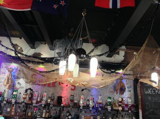 sharkys international bar diner snapshot of halloween celebrations