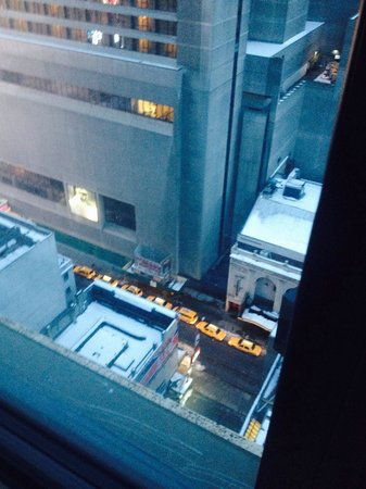 Hotel Edison Times Square : view from our room 2211