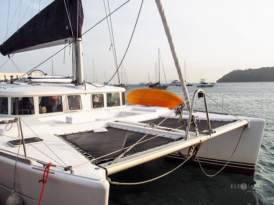 Catamaran Charter Panama - Day Sails: THE CATAMARAN