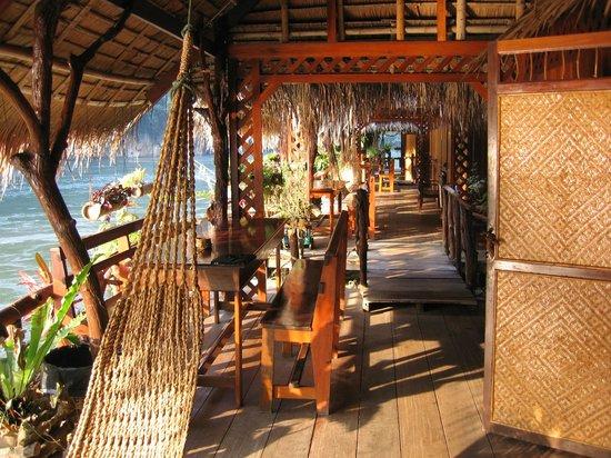River Kwai Jungle Rafts Resort: Waterfront