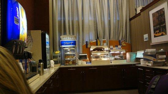 Hotel Central Fifth Avenue New York : Café da manhã hotel