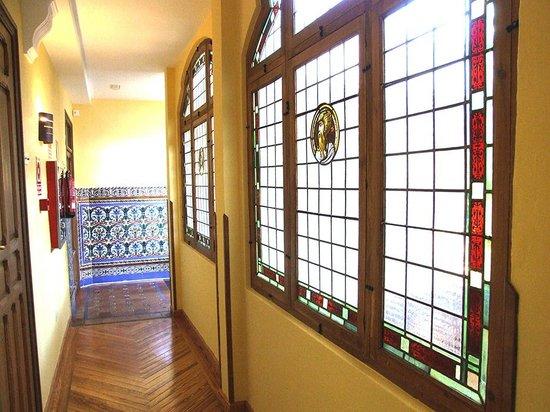 La Casa de la Torrecilla: Detalle pasillos