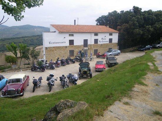 Restaurante La Carrasca: Fachada del Restaurante
