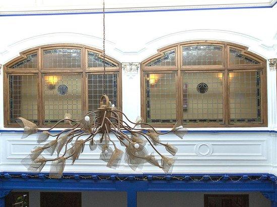 La Casa de la Torrecilla: Araña patio de luces