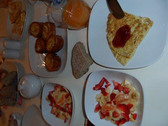 Riad Elizabeth: breakfast