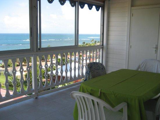 Hotel Le Manguier : terrasse