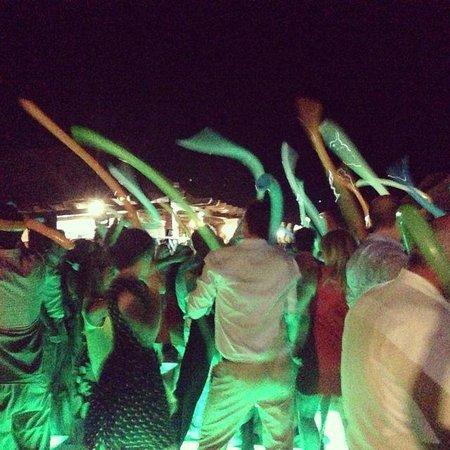 Wedding reception dance fun!