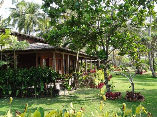 The Palm Beach Resort : Notre bungalow (2 chambres côte à côte)