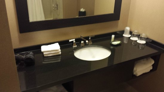 The Westin Baltimore Washington Airport - BWI: Bathroom Vanity Area