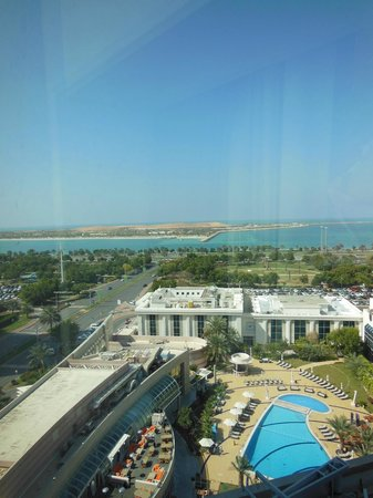 Le Royal Meridien Abu Dhabi: view from our room