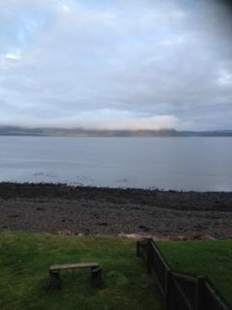 Beach Cottage B&B: View of Moray Firth and The Black Isle from our room