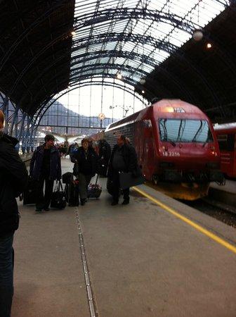 The Bergen Railway: In Bergen