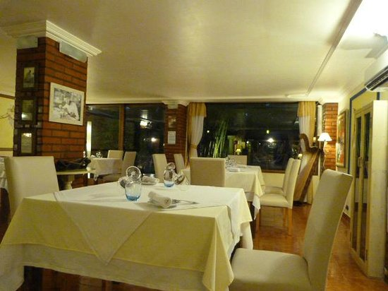 Boutique Hotel de la Fonte: Fine dining