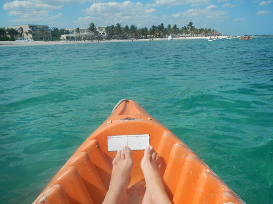 Dreams Tulum Resort & Spa: Kayak -gratuito-
