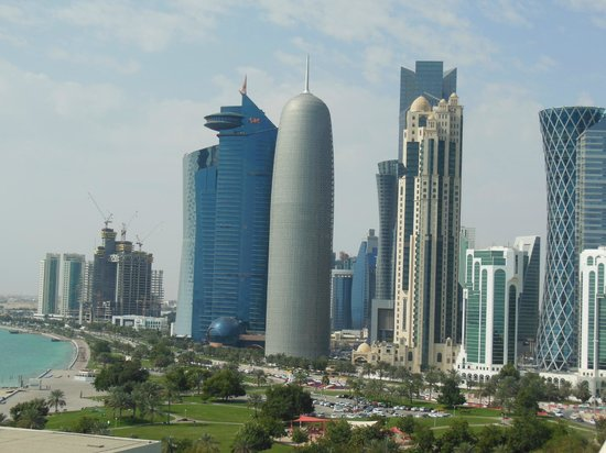 Sheraton Grand Doha Resort & Convention Hotel: View from room