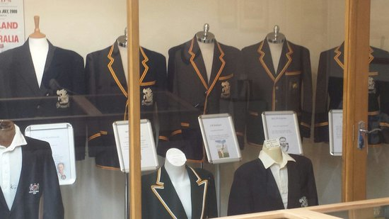 Cotswold Cricket Museum: Cricket blazers worn by various famous cricketers