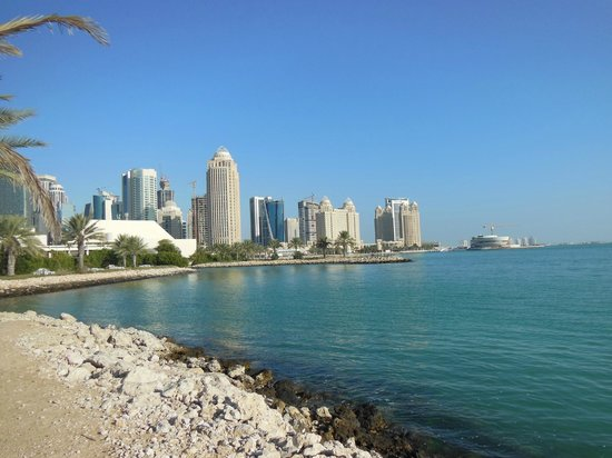 Sheraton Grand Doha Resort & Convention Hotel : view from gardens
