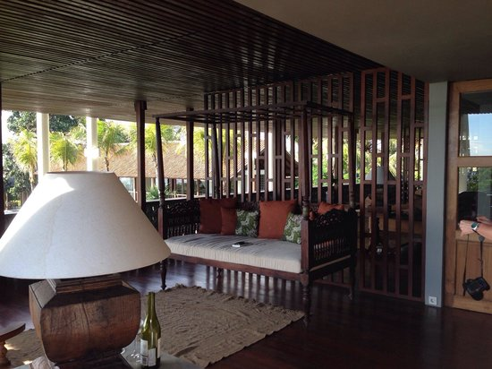Jeeva Saba Bali: Private part of the terasse at the 1st floor of the Beach house belonging to the Studio.