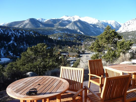 Mount Princeton Hot Springs Resort: View 1 from Cliffside room patio
