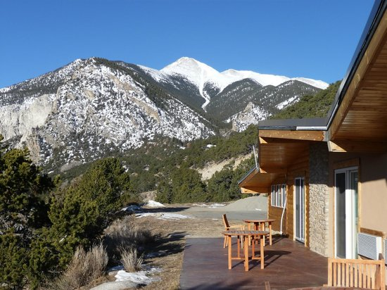 Mount Princeton Hot Springs Resort: View 2 from Cliffside room patio