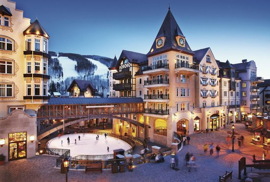 Arrabelle at Vail Square, A RockResort: Winter Exterior