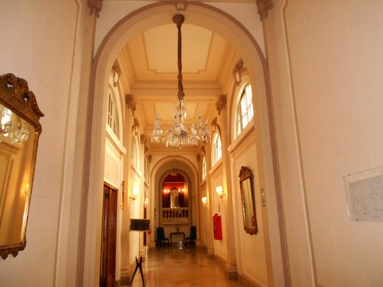 Gran Hotel Bolivar: un corridoio