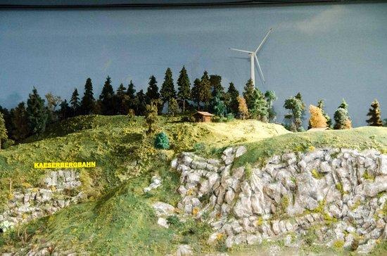 Musee des Chemins de fer du Kaeserberg: En route vers l'énergie renouvelable