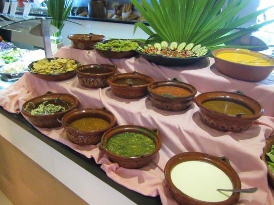 Iberostar Cancun: salsas