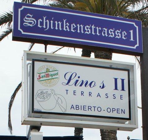 Linos Cafeteria y Restaurante: Schinkenstrasse1