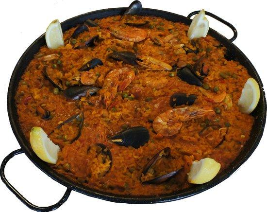 Linos Cafeteria y Restaurante: paella