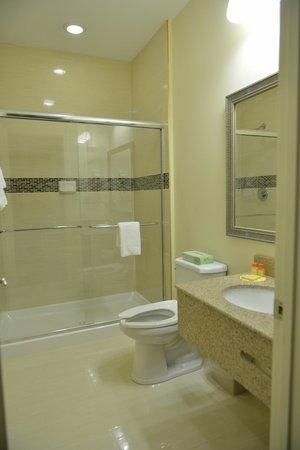 Whitney Inn & Suites : Bathroom