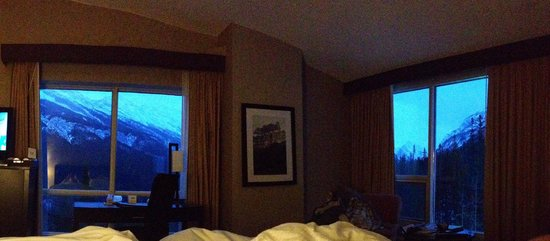 Rimrock Resort Hotel: The view from our room
