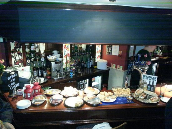 The Alnwick Arms: The generousity of a darts spread.. so kind