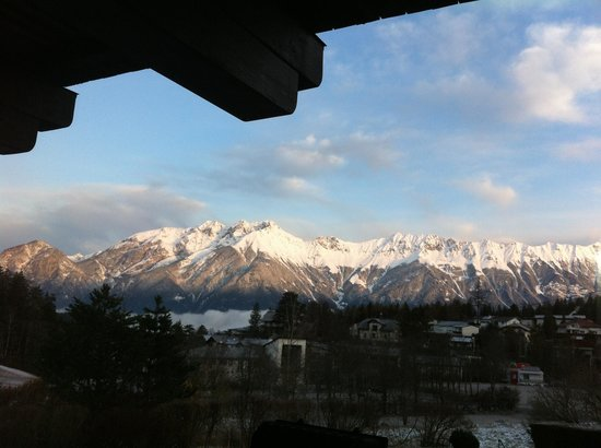Hotel Gruberhof : Morning view from room