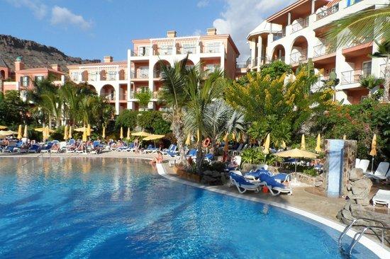 Cordial Mogan Playa : Hotel - schitterende beplanting