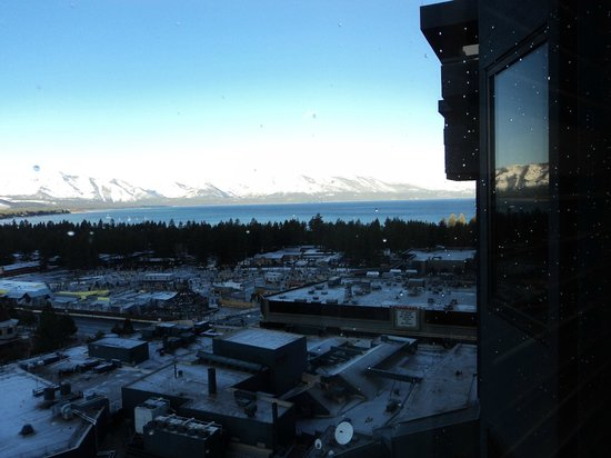 Harrah's Lake Tahoe : View from room windo