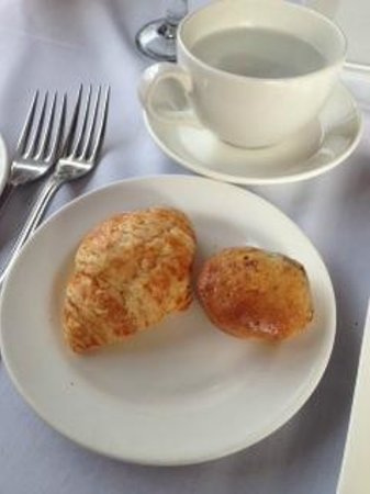 The Fish House In Stanley Park : complimentary crossiant