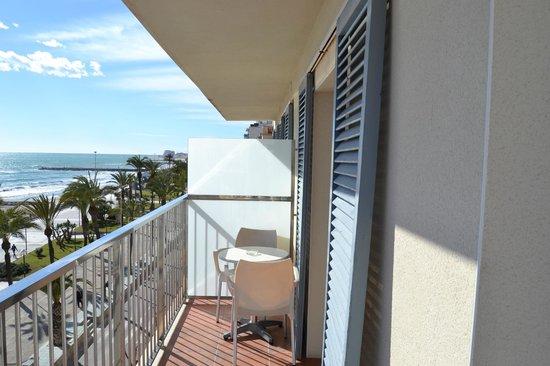 Hotel Subur: balcon